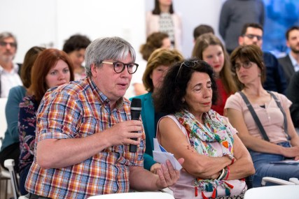 Catalonia event with a panel of guests. June 8, 2017 Brussels. © delmi alvarez